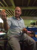 Türkei Landwirtschaft Landwirt Vehbi Ersöz Bio