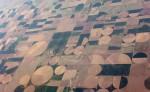 USA Kansas Felder Feld Acker Fläche