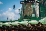 Ernte USA Maschine Traktor Mähdrescher