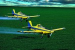 Pestizid Spray Planes