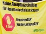 Protest gegen HannoverGEN