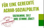 Mit der Sozialwahl 2017 findet erstmalig in der Landwirtschaft eine bundesweite Wahl statt.