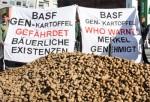 Protest gegen BASF-Kartoffel