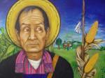 Südamerikanischer Bauer mit Mais (Quelle: Mariali Arte)