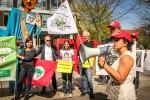 Protest brasilianische Botschaft