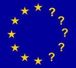 EU-Fahne Fragezeichen