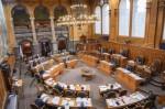 Sitzungssaal des Ständerats (Foto: Parlamentsdienste 3003 Bern)
