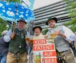Freibier gegen Patente in München