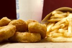 McDonald's Chicken Nuggets Hähnchen Huhn Fast-Food