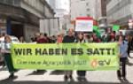 Bauern demonstrieren in Salzburg