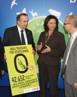 Null-Toleranz Unterschriften Übergabe an Aigner auf der Biofach