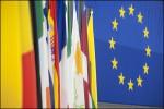 EU Flaggen Fahnen Parlament